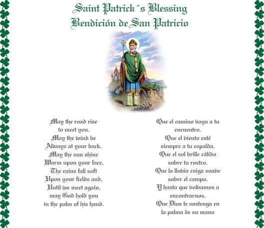 Bendición de San Patricio