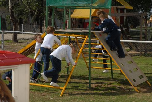 Area de Recreación Kindergarten del Colegio Bilingue San Patricio Moreno