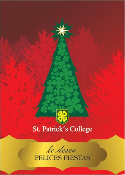 Saludo de Navidad del Colegio bilingue San Patricio Moreno