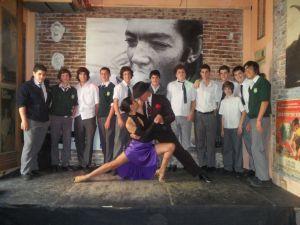 Historia en el secundario del Colegio Bilingue San Patricio Moreno