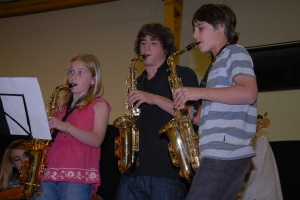 Musica en el Colegio San Patricio