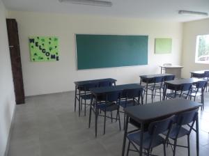 Nuevas aulas Colegio San Patricio Moreno