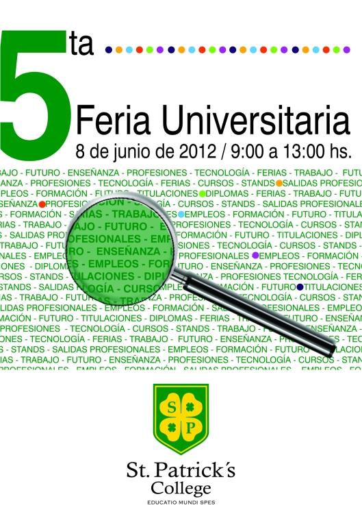 5feria universitaria en San Patricio