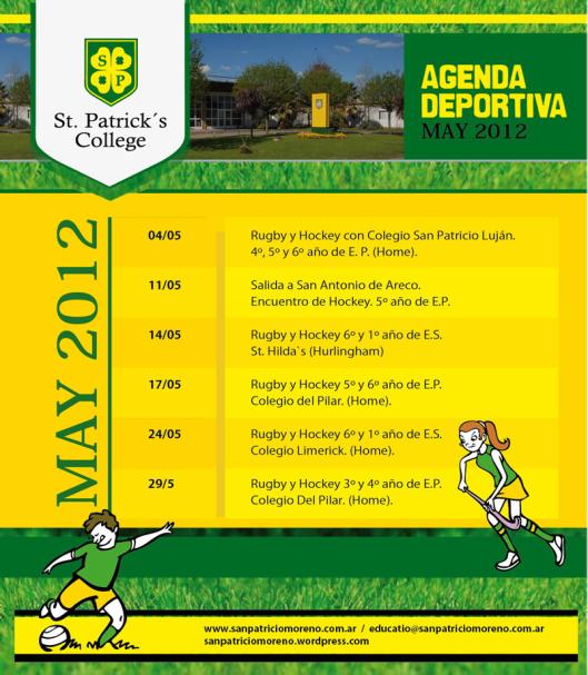 Newsletter Mayo Deportes San Patricio