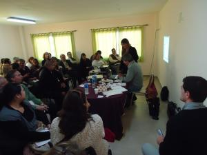 Reunión Directivos en Colegio San Patricio