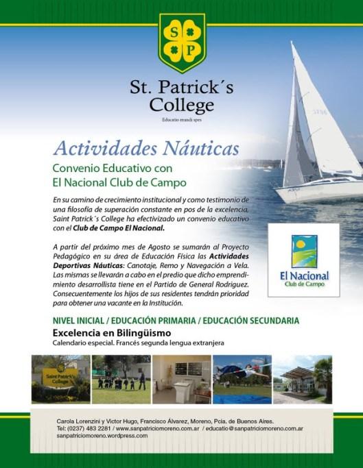 Publicidad El Nacional San Patricio