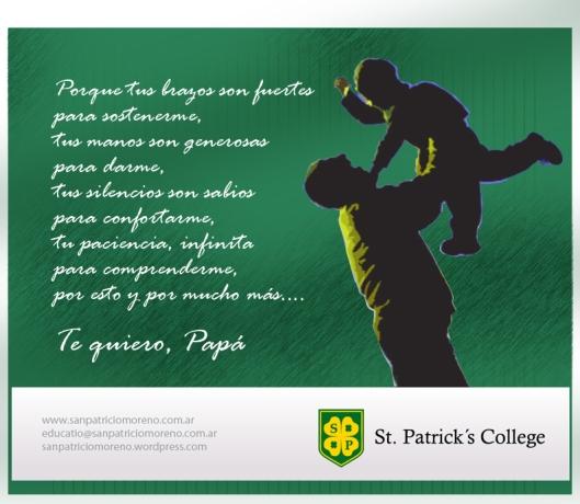 Día del Padre San Patricio