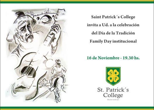 Invitación Día de la Tradición