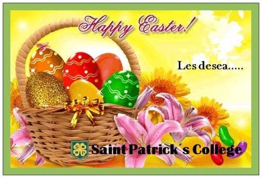 Tarjeta Pascuas San Patricio