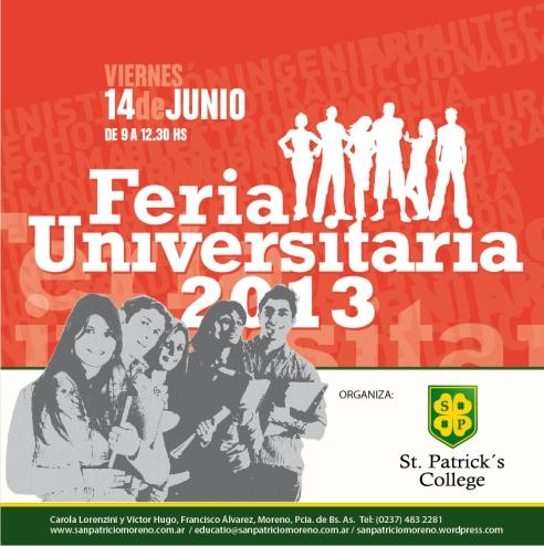 Feria Universitaria San Patrricio