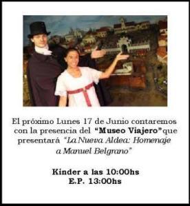 Invitación Museo Viajero San Patricio