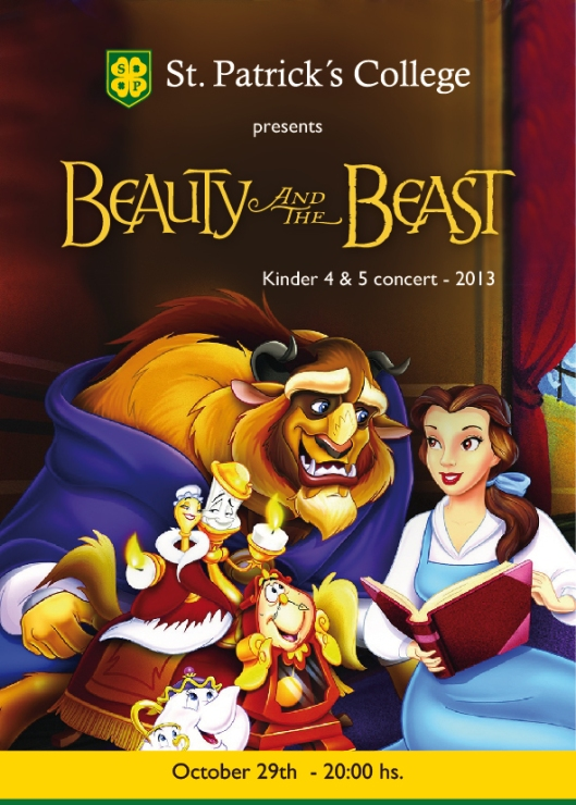 Beauty and the Beast 2013 San Patricio