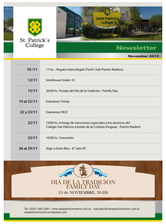 NEWSLETTER NOV 13