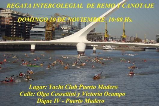Regata Intercolegial Pto Madero 2013