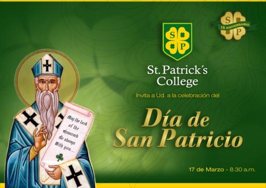 Invitación Día de San Patricio