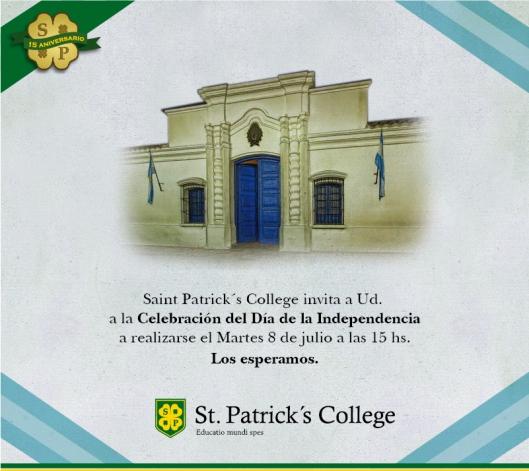 9 DE JULIO 2014 San Patricio