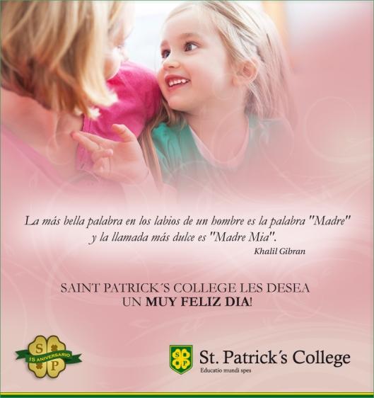 Día de la Madre San Patricio 2014