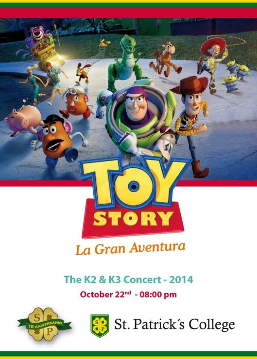 Toy Story San Patricio 2014
