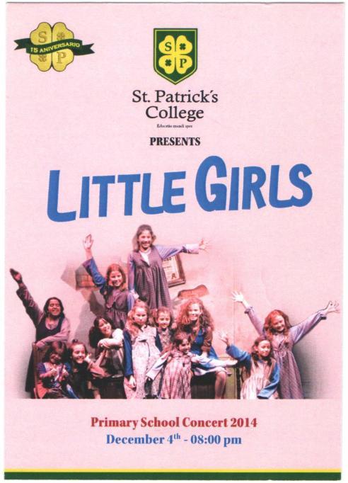 Concert de primaria San Patricio