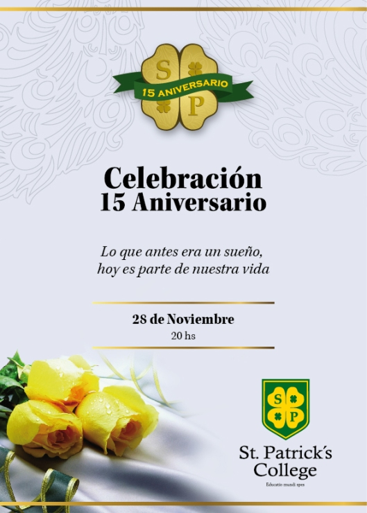 San Patricio 15 aniversario