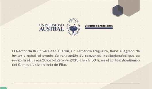 Universidad Austral y San Patricio