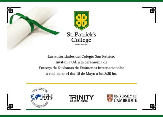 Examenes San Patricio 2015