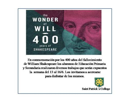 invitacion shakespeare